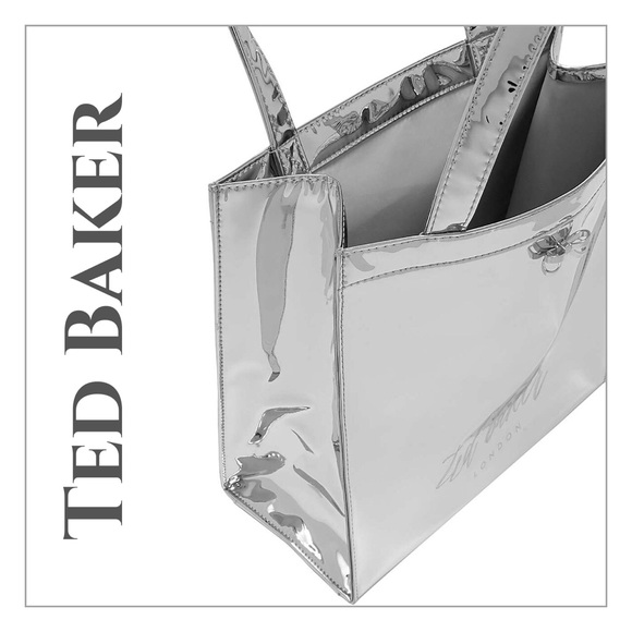 e282932839 Ted Baker Doracon Silver Small Icon Bag